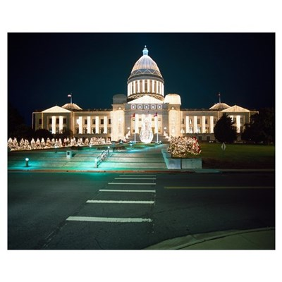 State Capitol Little Rock AK Poster