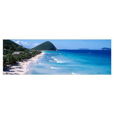 Long Bay Beach Tortola British Virgin Islands Poster