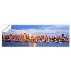 Sunrise New York NY Wall Decal