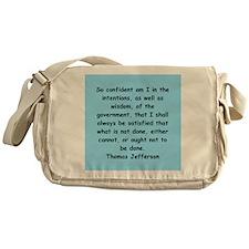 thomas jefferson Messenger Bag