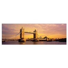 Tower Bridge London England Canvas Art
