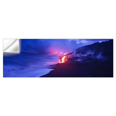 Kilauea Volcano Hawaii HI Wall Decal