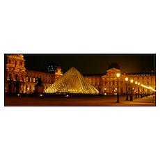 Louvre Paris France Poster