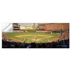Camden Yards Baseball Game Baltimore MD Wall Decal