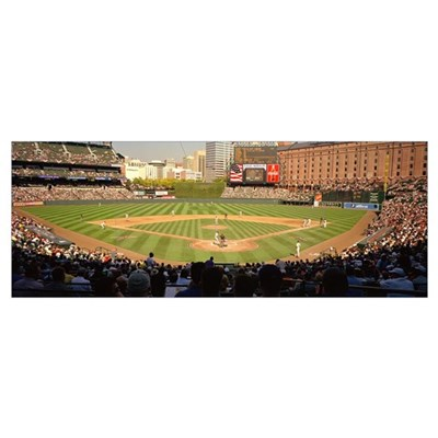 Oriole Park at Camden Yards, section 328, home of ...