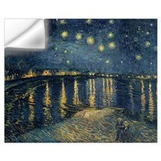 The Starry Night, 1888 (oil on canvas) Wall Decal