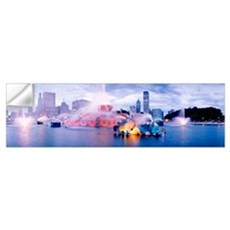 Buckingham Fountain Chicago IL Wall Decal