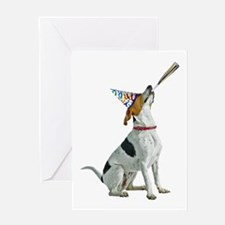 Foxhound Party Greeting Card