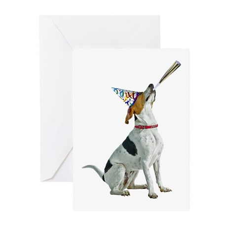 Foxhound Party Greeting Cards (Pk of 10)