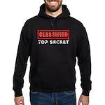 Classified Top Secret Hoodie (dark)