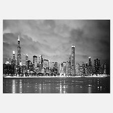 Illinois, Chicago, skyline