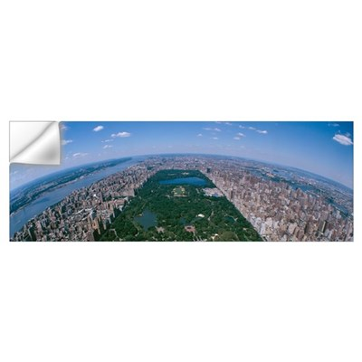 Aerial Central Park Manhattan New York City NY Wall Decal