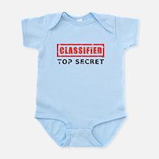 Classified Top Secret Infant Bodysuit