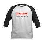 Classified Top Secret Kids Baseball Jersey