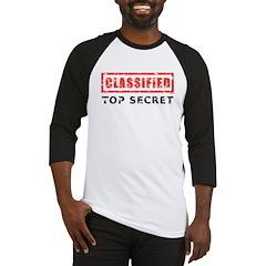 Classified Top Secret Baseball Jersey