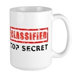 Classified Top Secret Large Mug