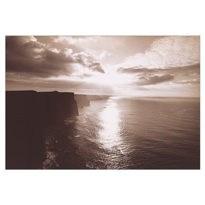 The Cliff Of Moher Ireland Poster