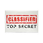 Classified Top Secret Rectangle Magnet