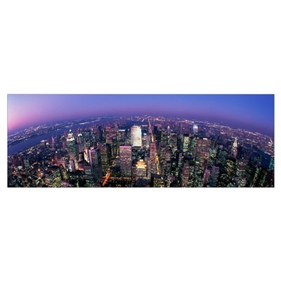 Midtown Manhattan New York NY Canvas Art