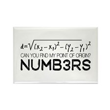 NUMB3RS Rectangle Magnet (100 pack)