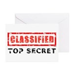 Classified Top Secret Greeting Cards (Pk of 10)