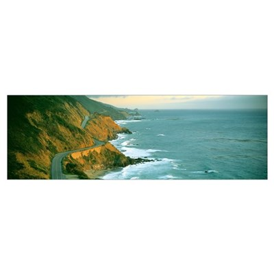 Highway 1 Big Sur CA Poster