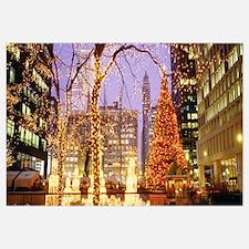 Daley Plaza Christmas Lights Chicago IL