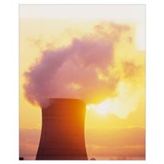 Nuclear Power Plant Three Mile Island PA Poster