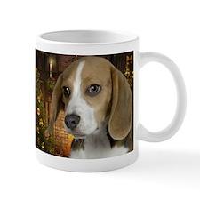 Beagle Holiday Small Mug