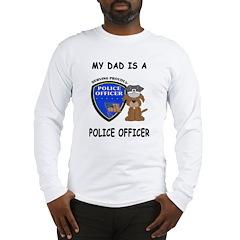 Police Dad Long Sleeve T-Shirt