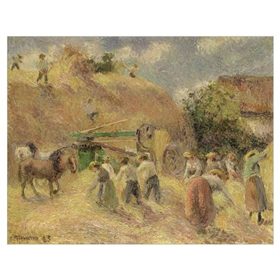 The Harvest, 1883 Poster