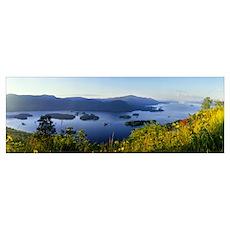 Lake George Narrows Bolton Landing Adirondacks NY Poster