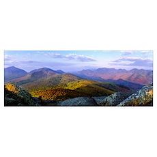 Adirondack High Peaks Adirondacks NY Poster