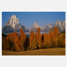 Teton Range Grand Teton National Park WY