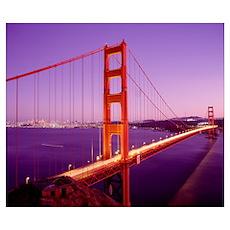 Golden Gate Bridge San Francisco CA Poster