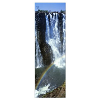 Victoria Falls Zimbabwe Africa Poster