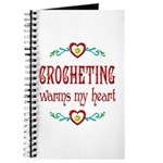 Crocheting Warms Hearts Journal