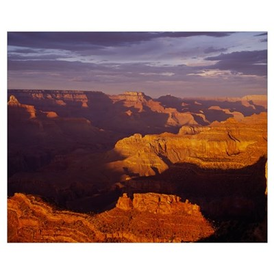 Sunset Grand Canyon National Park AZ Poster