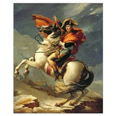 Napoleon Crossing the Alps on 20th May 1800 Poster