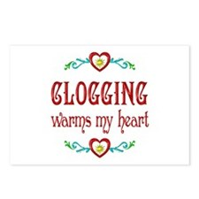 Clogging Warms My Heart Postcards (Package of 8)