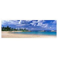 Beach at Ko Olina Resort Oahu Hawaii Poster