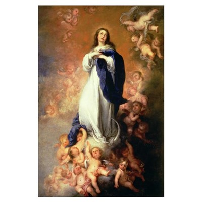Immaculate Conception of the Escorial, c.1678 (oil Poster