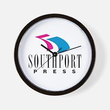 Southport Press Wall Clock