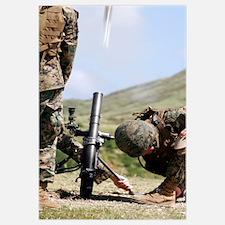 The directlay method of firing mortars