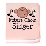 Future Choir Singer Kids baby blanket