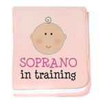 Soprano In Training baby blanket