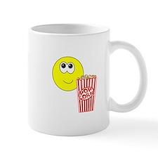 Smilie Face Popcorn Mug