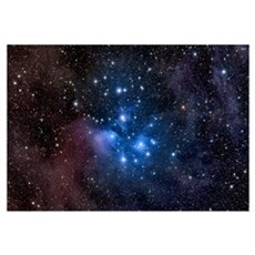 The Pleiades also known as the Seven Sisters Canvas Art
