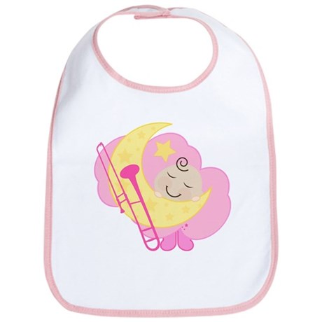 Trombone Sleeping Baby Music Bib