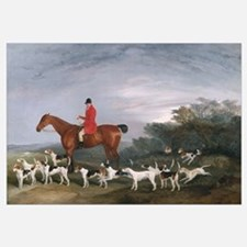 Out Hunting, 1841 (oil on canvas)